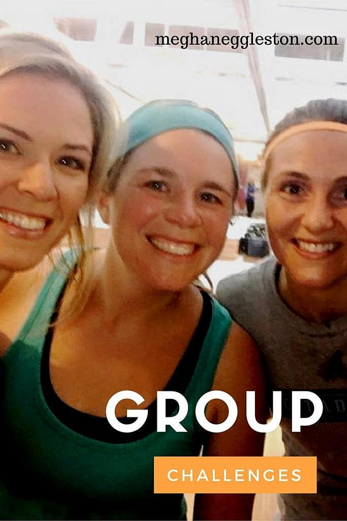 Group fitness challenge
